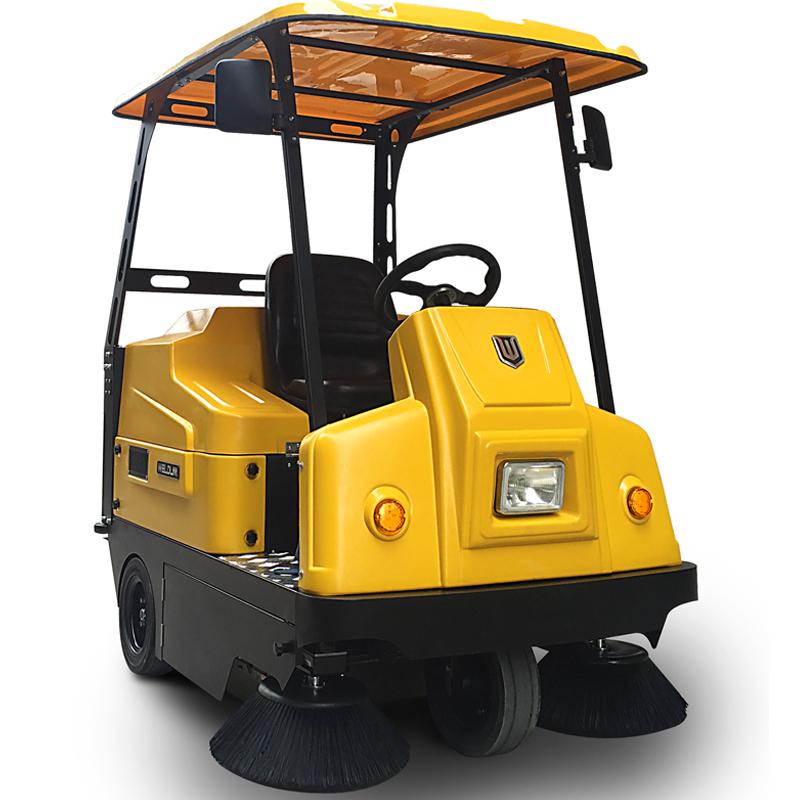 小型驾驶式扫地车_小区车间清扫车伟顿W1400/1380