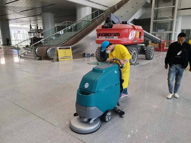 随州南站地面清洗机器