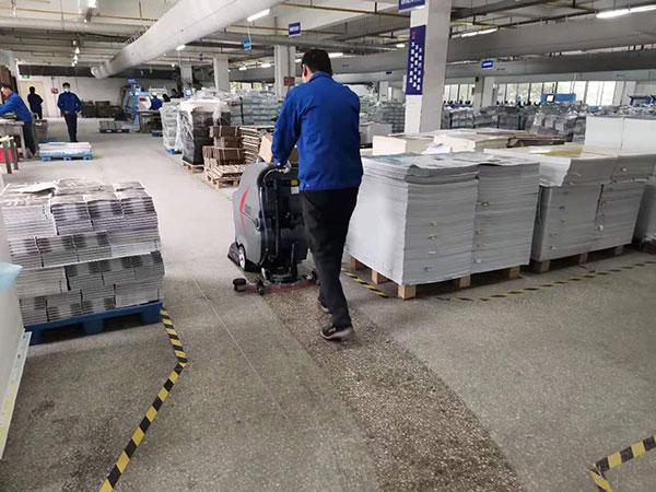 工業自動洗地機,印刷廠自動洗地機,GM50B工廠洗地機,第一張