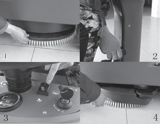 洗地机的刷盘怎么安装