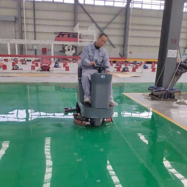 工厂车间大中型驾驶式洗地机GM110BT85