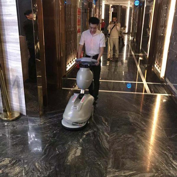 酒店小型手推式洗地机