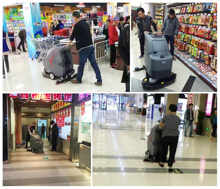 商场超市的保洁实际案例