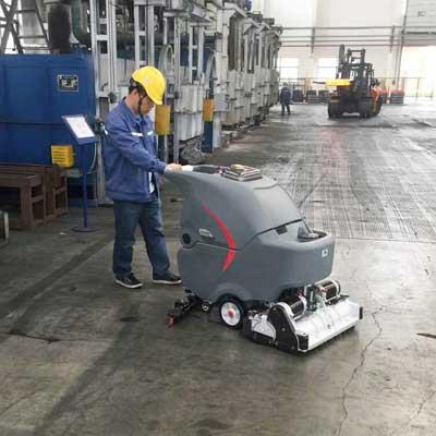 洗扫一体机在某电力厂的使用案例