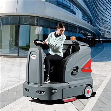 中大型洗地机电动洗地车 GM160