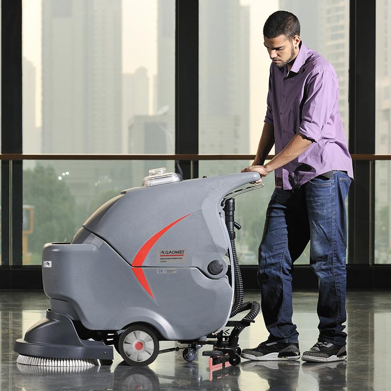 电线款 手推式洗地机 高美GM50