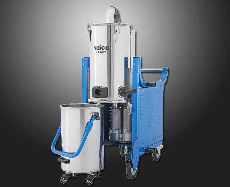 专业吸收金属粉末的耐柯NT50系列工业吸尘器