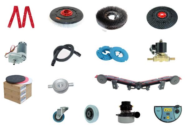 洗地机配件耗材价格表_洗地机常用耗材配件,图二
