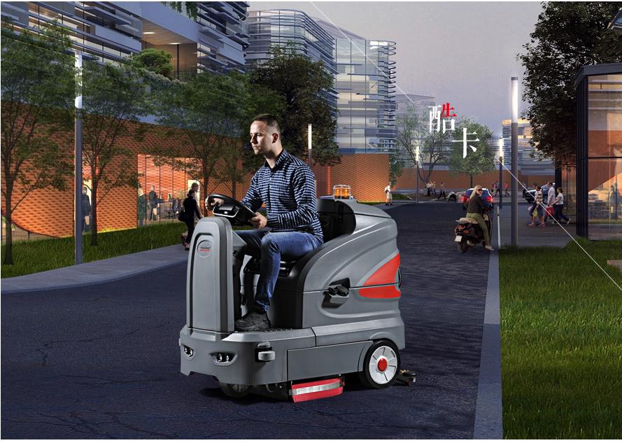 智慧型洗地车S130