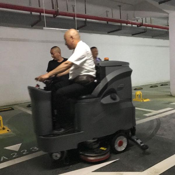 全自动洗地机,驾驶式洗地车,工厂扫地车,超高压清洗机--武汉艾诗易