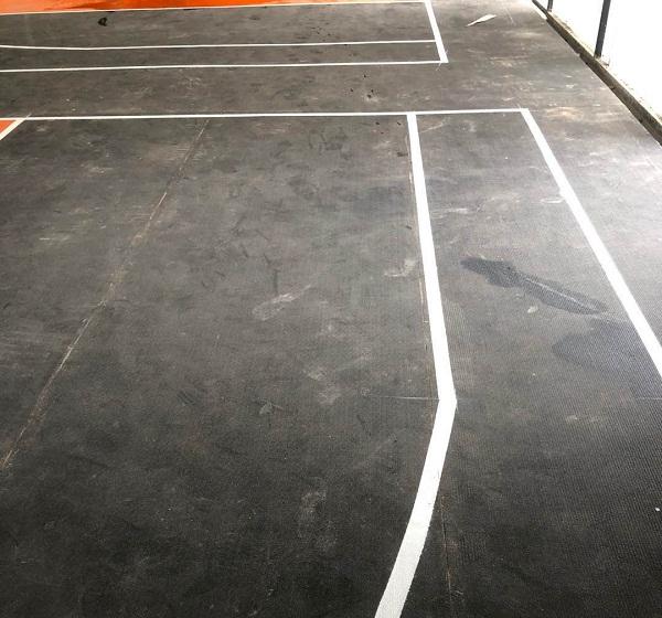 篮球场馆地面清洁专用洗地扫地机