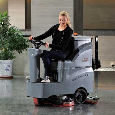 小型駕駛式洗地機GM-MINI高美