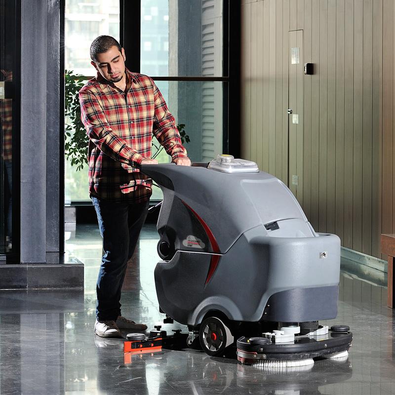 高美S70BT双刷盘手推式洗地机