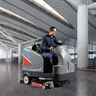智慧大型駕駛式洗地車S230