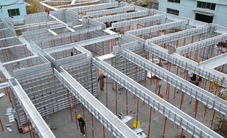 建筑用铝合金模板的优势