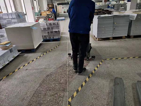 工業自動洗地機,印刷廠自動洗地機,GM50B工廠洗地機,第三張