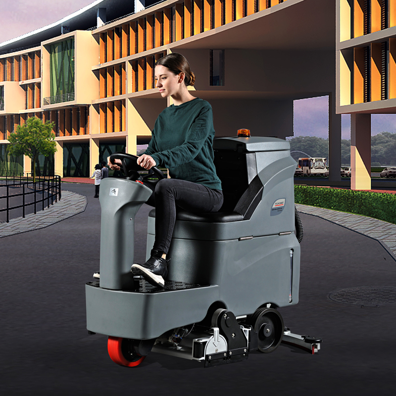 GMRMINI高美中小型洗扫一体机丨驾驶式洗地车