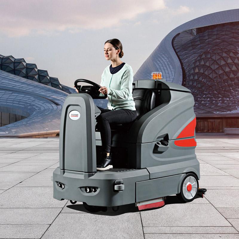 智慧型驾驶式洗地车 S160高美