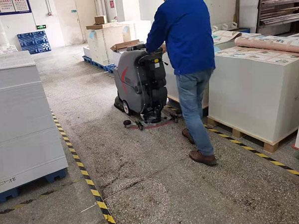 工業自動洗地機,印刷廠自動洗地機,GM50B工廠洗地機,第二張